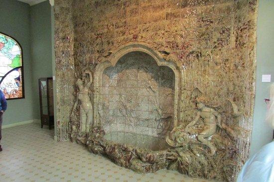 Musée de l'École de Nancy : Stone fountain