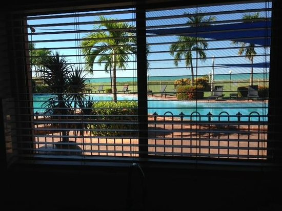 Moonlight Bay Suites: view from our living room