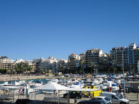 Balcon del Mediterraneo : Vista playa poniente desde el  mirador