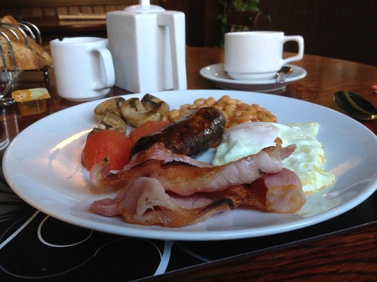 The Spotted Dog: Cooked breakfast