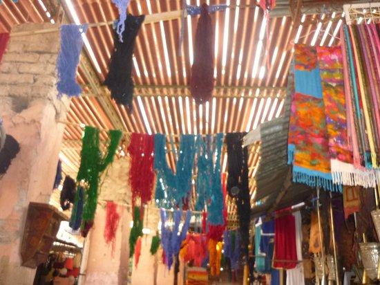 Club Marmara Madina : Les souks des teinturiers