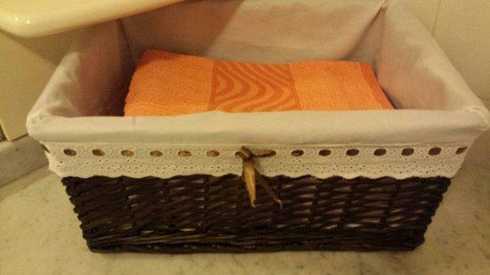 Bed & Breakfast Abete: Asciugamani sempre puliti