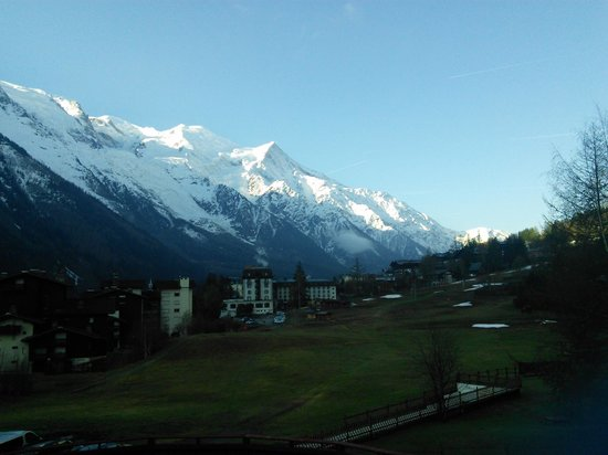 La Sapiniere: the view from the balcony!