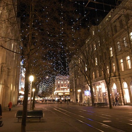 The most famous Bahnhofstrasse