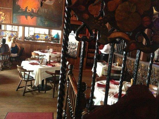 Ocean Grill Restaurant : the bar
