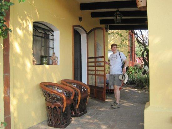Casa Panchita: In front of the Garden Room