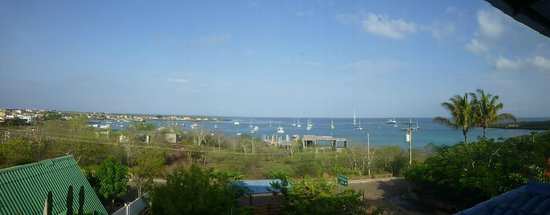 Casa Playa Mann Galapagos : Panorámica desde la habitación