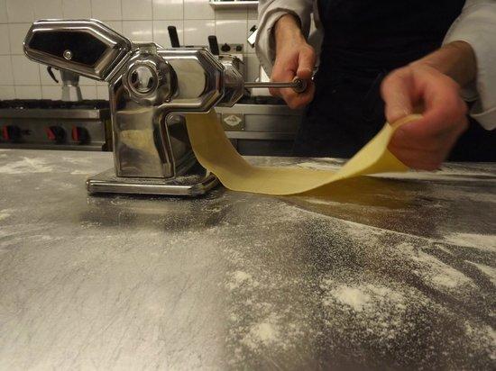 Lo Zafferano: Pasta fresca journalière