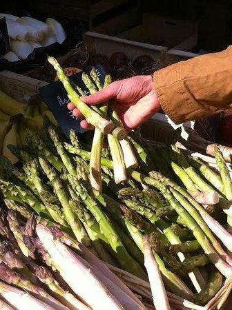 Lo Zafferano: Le matin au marché...