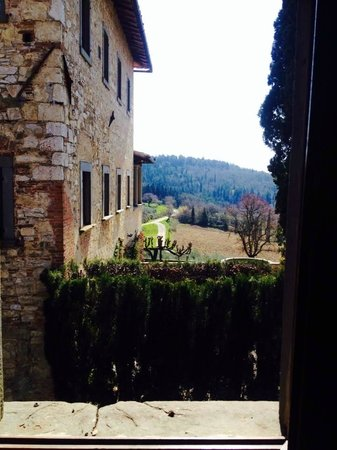 Castello di Fonterutoli: View from the beautiful Limonaia House