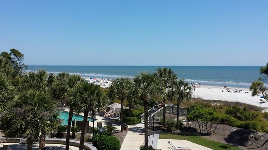 Marriott's Monarch at Sea Pines: View from our villa :-)
