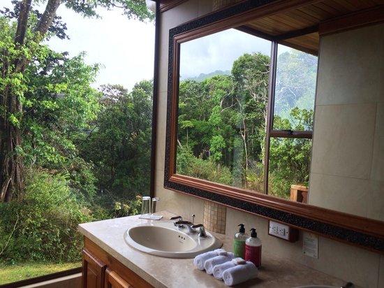 Hotel Belmar: Bathroom of the canopy suite #6