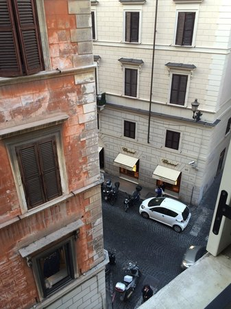 Babuino 181 : View from Room 301