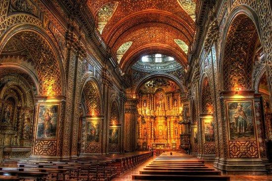 Iglesia de La Compania de Jesús: Una de las más hermosas iglesias del mundo
