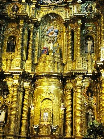 Iglesia de La Compania de Jesús: Altar Mayor de la Compañía de Jesús