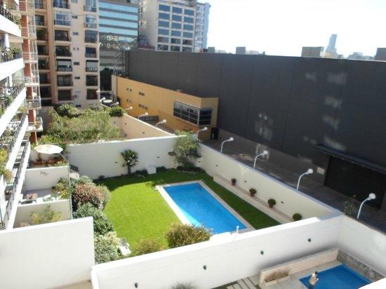 Hotel Cristoforo Colombo: vista desde la habitacion