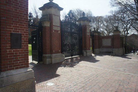 The Gates of Brown University!
