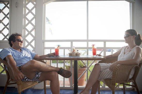 Cape Santa Maria Beach Resort & Villas: View from the bar