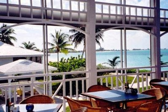 Cape Santa Maria Beach Resort & Villas: View from the dining room