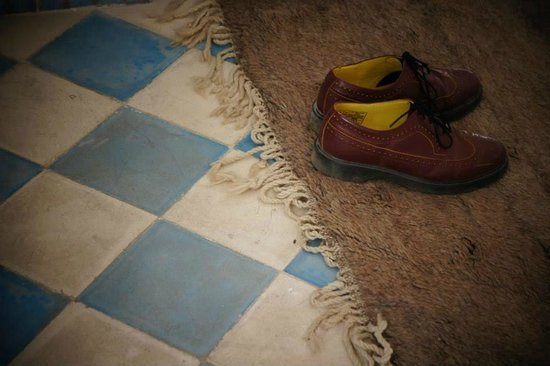 Riad Senso: inside the room