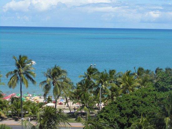Tambaqui Praia: Vista da praia na cobertura do hotel