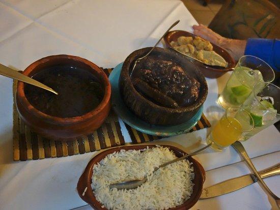 Casa da Feijoada : First course offerings