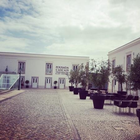 Pestana Cidadela Cascais : plaza de Armas
