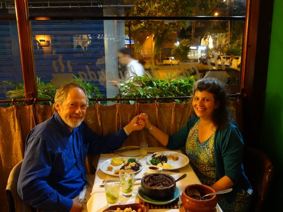 Casa da Feijoada : A nice place for a romantic dinner