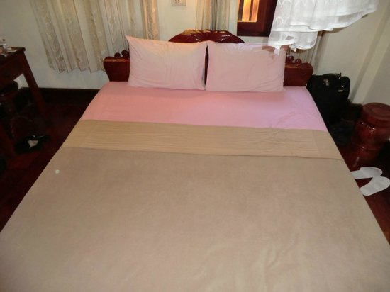 Thida Guesthouse : Bed
