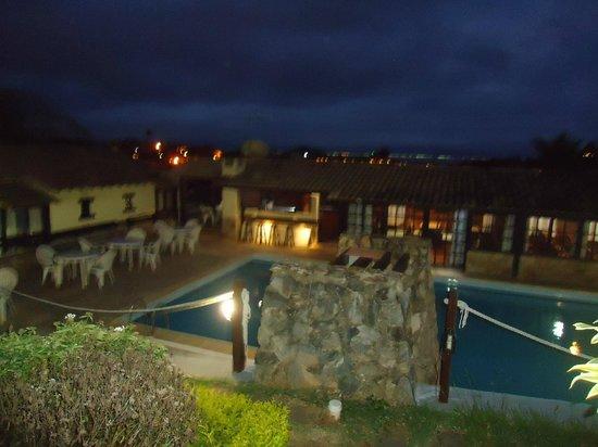Pousada Gammel Dansk: Vista da piscina
