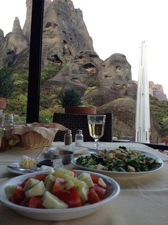 Meteoron Panorama : buena comida y bellas vistas