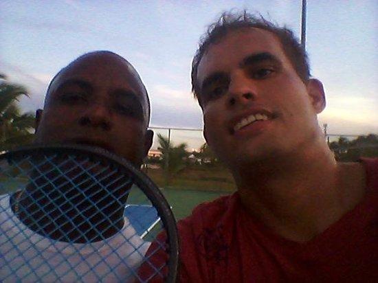 Majestic Colonial Punta Cana : Nice guy - Yojalis (tennis pro)