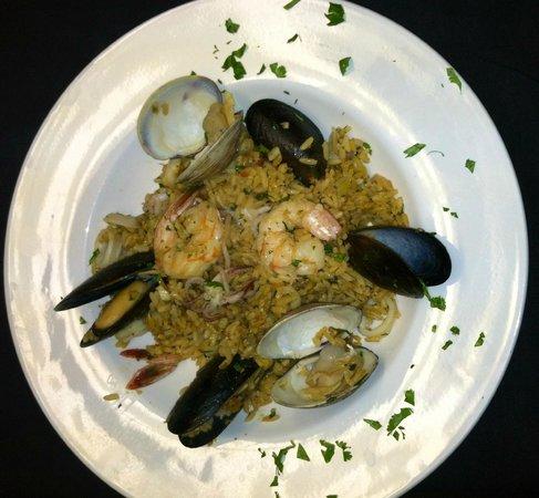 Sazon Restaurante: Arroz con Mariscos