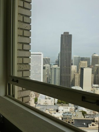 InterContinental Mark Hopkins San Francisco: View from the throne