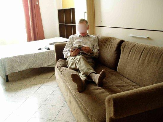 City Residence Milano: Sitting room