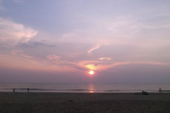Agonda Beach: Every day ends like this. Beautiful.