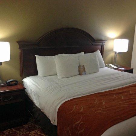 Comfort Suites Milledgeville: bed