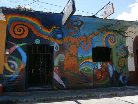 École espagnole de Matagalpa : Fachada de Escuela de Español Colibrí