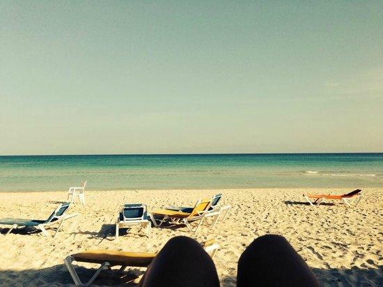Hotel Tuxpan Varadero: Beach in the morning