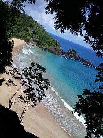 Baia do Sancho: Vista da Praia do Sancho