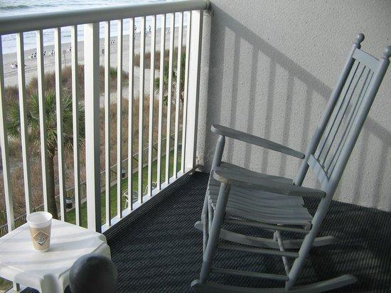 Indigo Inn: room balcony