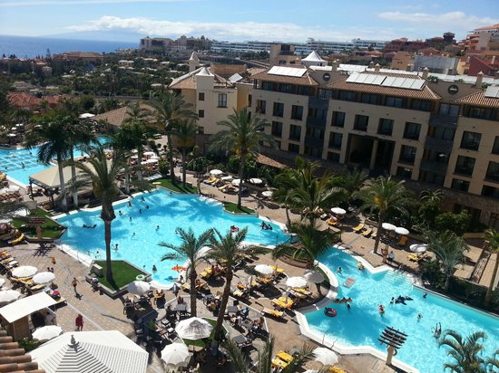 Costa Adeje Gran Hotel: View From Sixth Floor Roof Terrace/ Pool Area