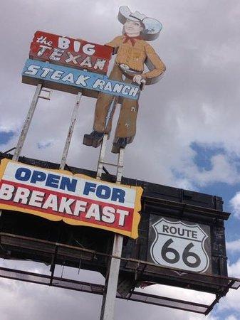 Big Texan Motel: A must stop!