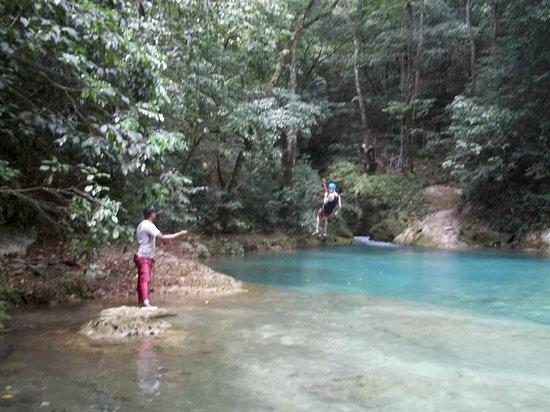 Casa Marina Beach & Reef: swim in the lagoon after a long hike