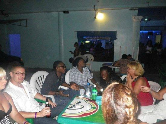 Casa Marina Beach & Reef: night time drinks with new friends