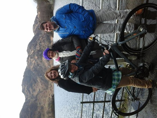 Loch Katrine: Walk and cycling around the loch.