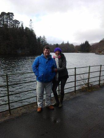 Loch Katrine: Walking round the loch.