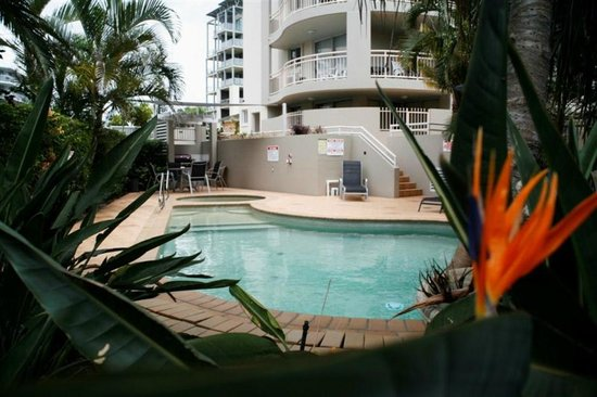 Wharf Boutique Apartments: Pool and Spa