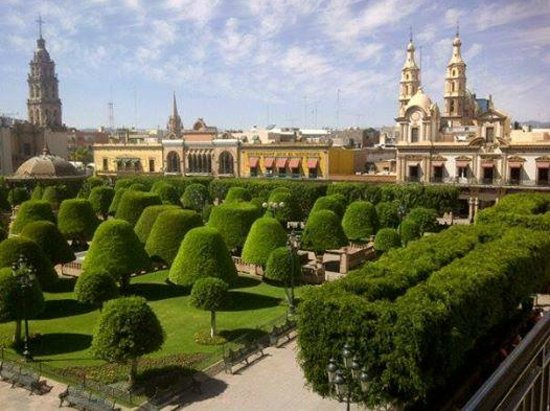 Ramada Plaza Leon: hermosa vista desde mi habitacion