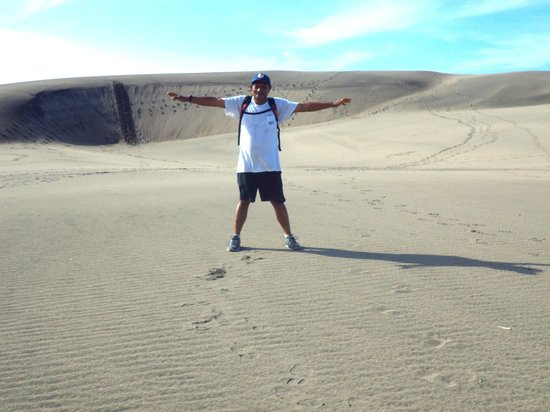 Sigatoka Sand Dunes National Park : Top of Dunes